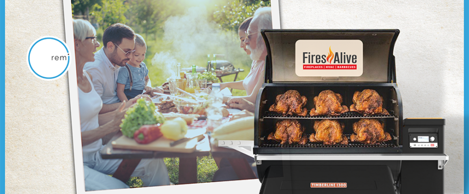 Turkey BBQ and Pumpkin Pie for Thanksgiving 2021 with Fires Alive - remi360 September Blog